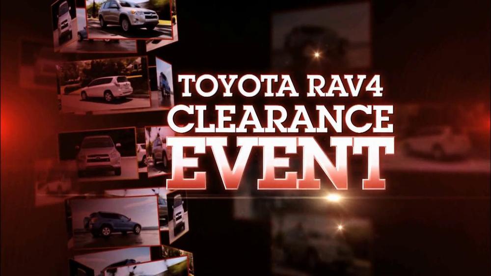 Toyota RAV4 Clearance Event TV Commercial - iSpot.tv
