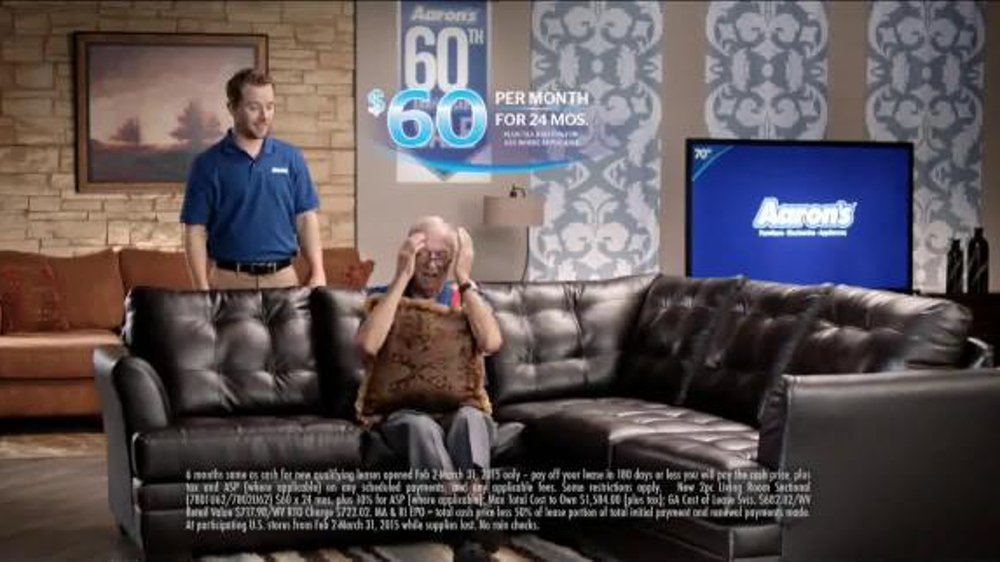 Aaron S 60th Anniversary Sale Tv Spot Wakes You Up