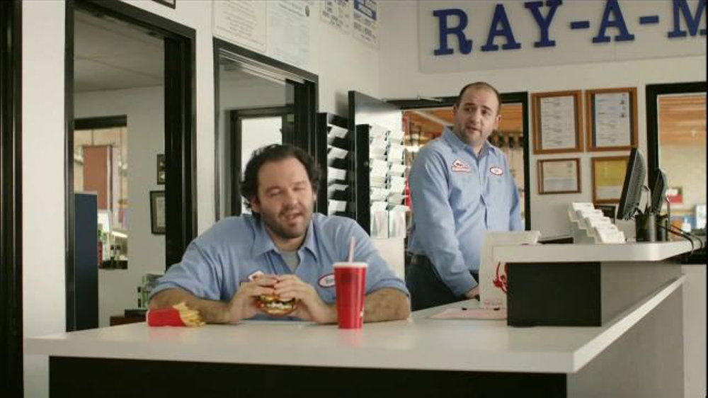 Wendy's Bacon & Blue on Brioche TV Spot, 'Ray-A-Motive' thumbnail