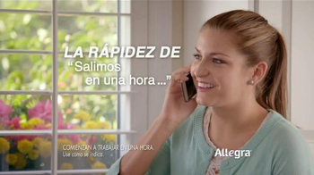 Allegra Allergy Gelcaps TV Spot, 'Rápidas' [Spanish] thumbnail