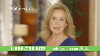 Nutrisystem Fast 5+ TV Spot, 'Time to Make a Change' Feat. Genie Francis thumbnail