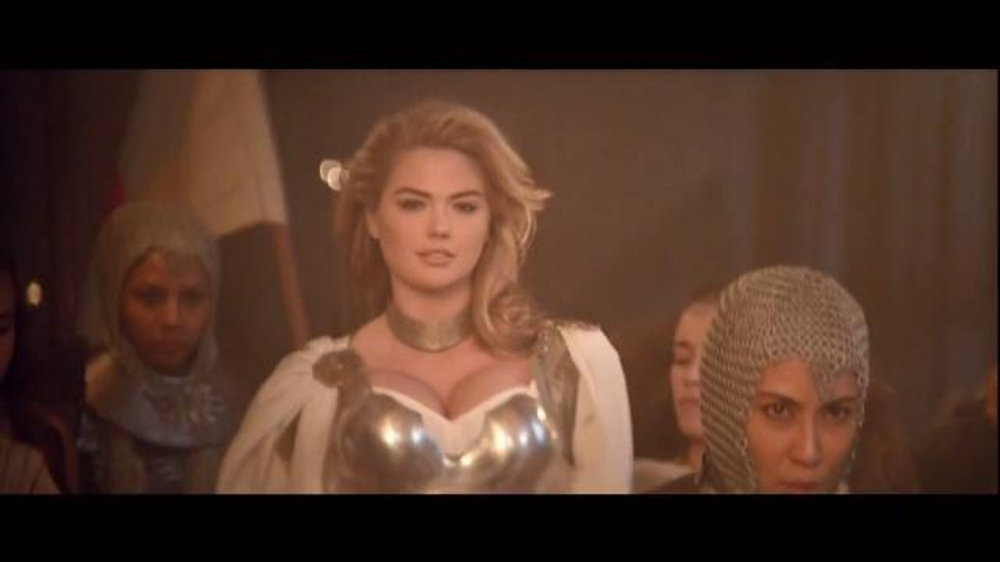 Game of war super bowl 2015 tv spot who i am featuring kate upton