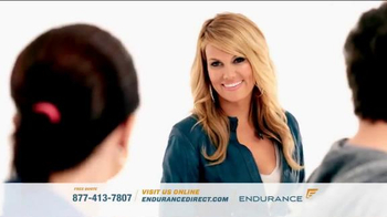 Endurance Direct TV Spot, 'Courtney Hansen on Vehicle Parts and Labor Cost'
