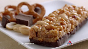 Atkins Bars TV Spot, 'Snack on the Run' Featuring Sharon Osbourne