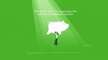 TD Ameritrade: Old 401(k) in a Corner