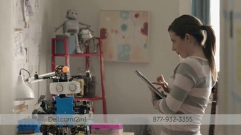 Dell 2-in-1 TV Spot, 'Científico Adolescente Construye un Robot' [Spanish]