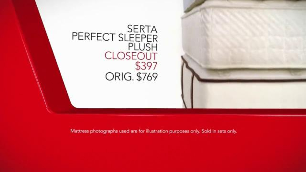 Macy s Presidents Day Mattress Sale TV mercial Final