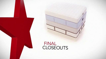 Macy's Presidents' Day Mattress Sale TV Spot, 'Final Closeout Mattresses' thumbnail