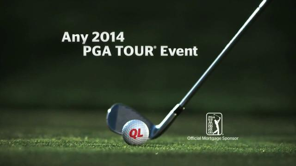 Quicken Loans Hole-in-One Sweepstakes TV Spot, 'PGA Tour'