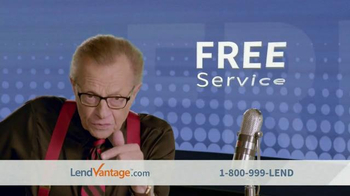 LendVantage TV Spot Featuring Larry King
