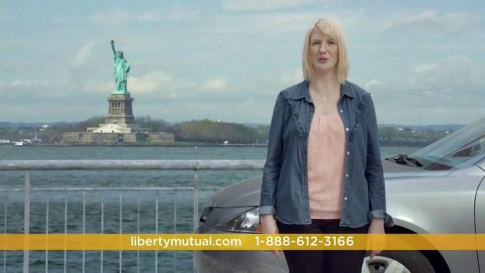 liberty mutual tv commercials with black lady liberty ...