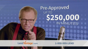 LendVantage TV Spot, 'Capital' Featuring Larry King