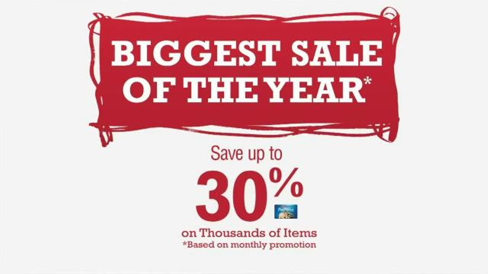 PetSmart Biggest Sale of the Year TV Spot