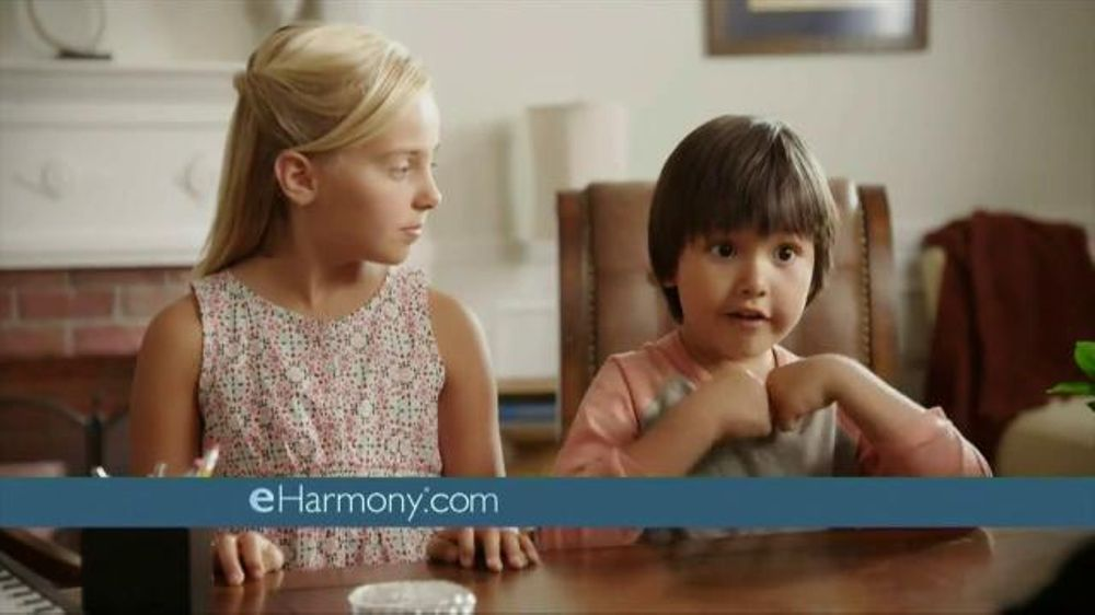 Who is the actress in the eharmony commercial