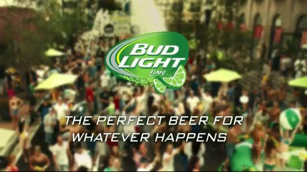 Bud Light Lime TV Spot, 'Block Party Slip 'n' Slide' - Screenshot 9