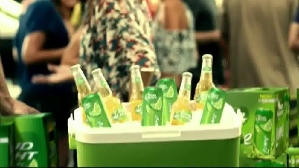 Bud Light Lime TV Spot, 'Block Party Slip 'n' Slide' - Screenshot 8