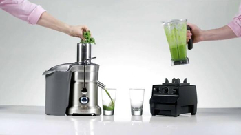 Breville: Juicing vs. Blending Higher Concentrate