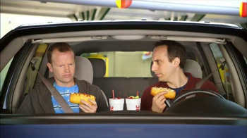 Sonic Drive-In Cheesy Bread Dogs TV Spot, 'Outside Counts' thumbnail