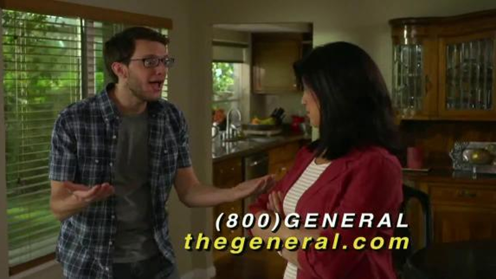 Insurance Company The General Auto Insurance Commercial
