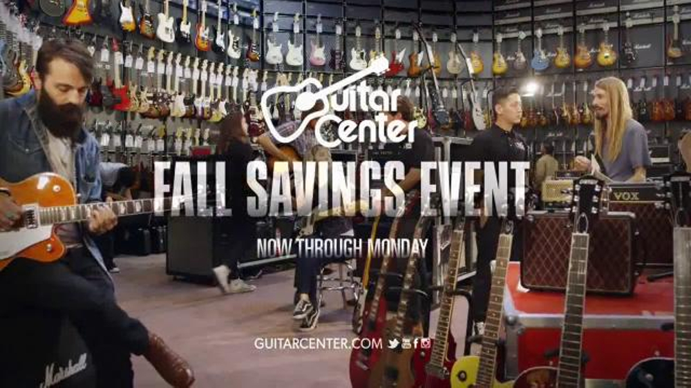 guitar center 2014 fall savings event tv spot. Black Bedroom Furniture Sets. Home Design Ideas