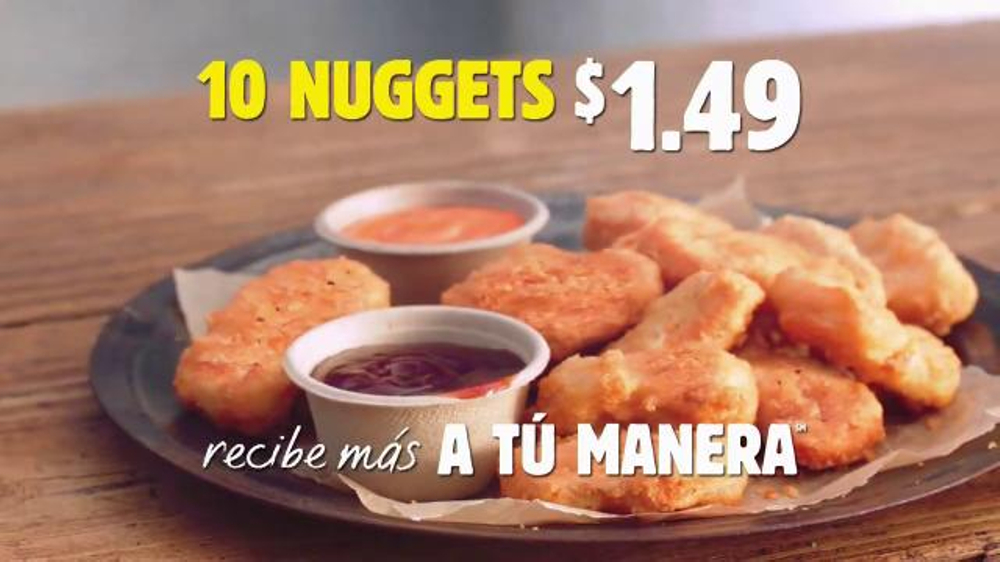 how to say chicken nuggets in spanish