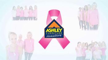 Ashley Furniture Homestore TV Spot, 'Breast Cancer Awareness Month'