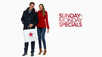 Macy's Columbus Day Sale TV Spot, 'Save on Denim, Ties and More'