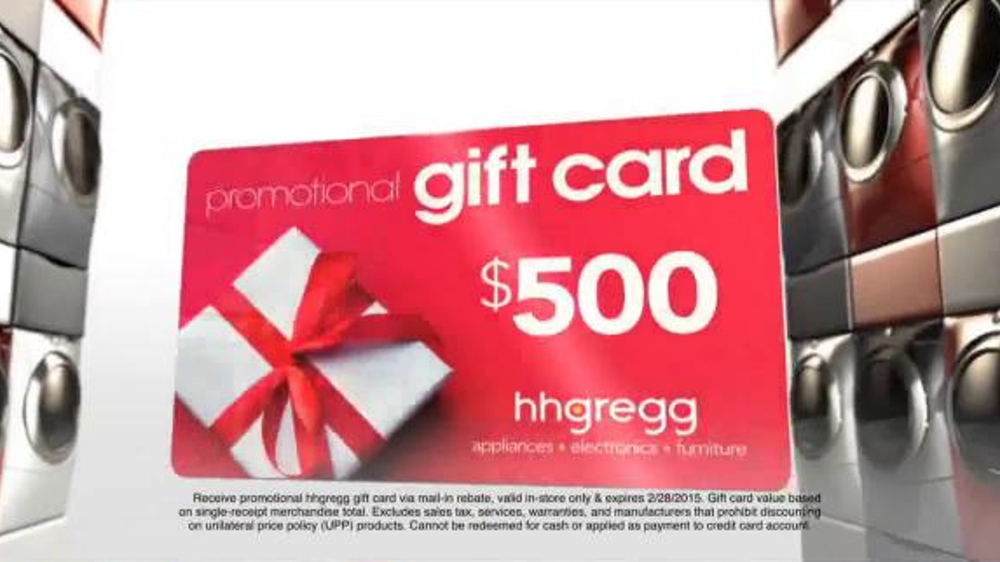H H Gregg Columbus Day Sale TV Spot Save Big on