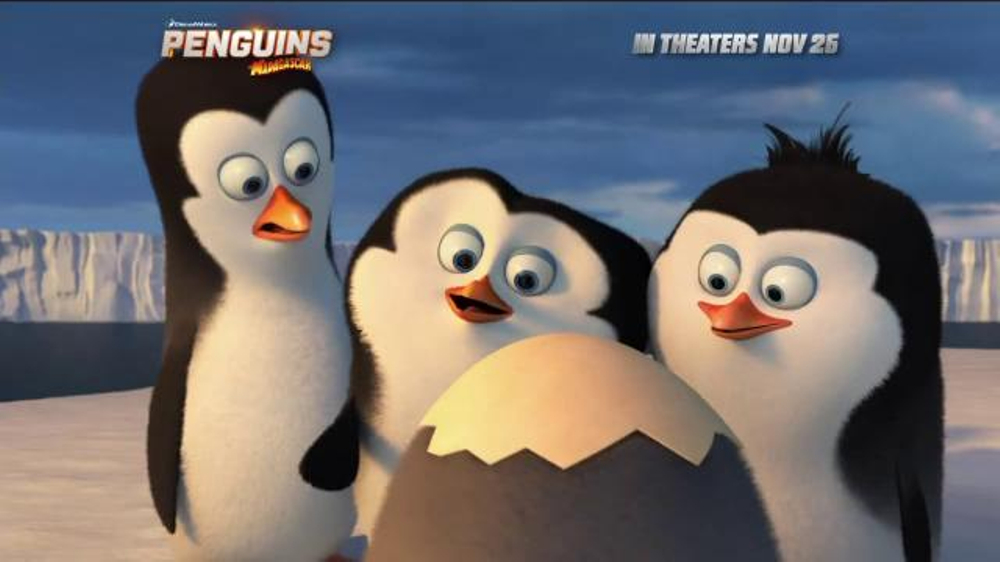 Penguins of madagascar tv movie trailer ispot tv