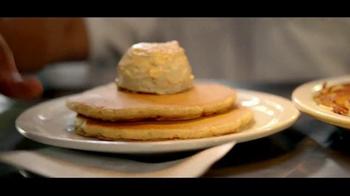 Denny's Pumpkin Pancakes TV Spot, 'New! Pumpkin Pancakes for $4.99'