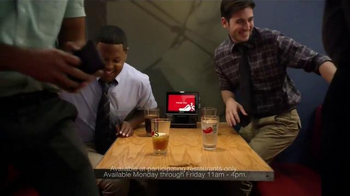 Chili's Lunch Double Burger TV Spot, 'New Lunch Double Burger'