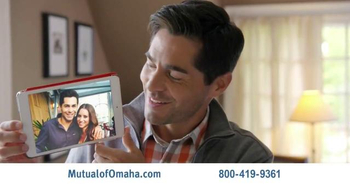 Mutual of Omaha Life Insurance TV Spot, 'Irreplaceable'