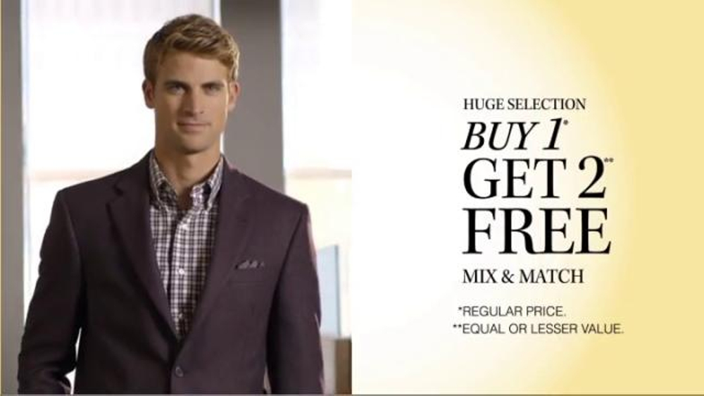 JoS. A. Bank TV Spot, 'October: BOG2 Suits, Sportcoats + 3 Traveler Shirts'