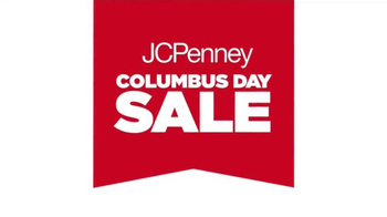 JC Penney Columbus Day Sale TV Spot, 'Discover Amazing Big Buys'