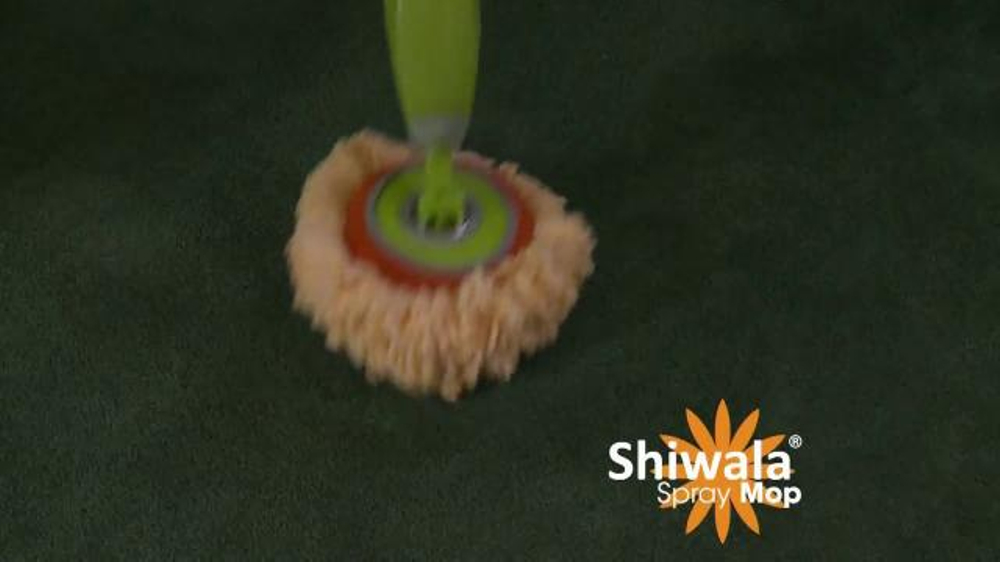 Shiwala Spray Mop Tv Spot Works Like Magic Ispot Tv
