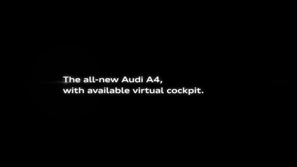 Audi A4 Tv Spot Intelligent Statement Song By The