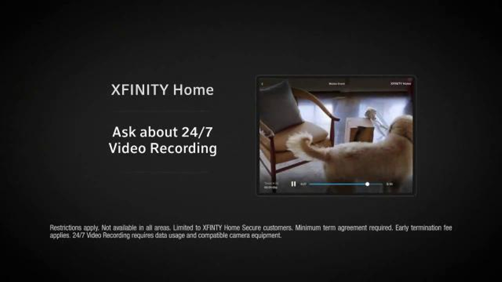 Xfinity Home Security Commercial With Dog