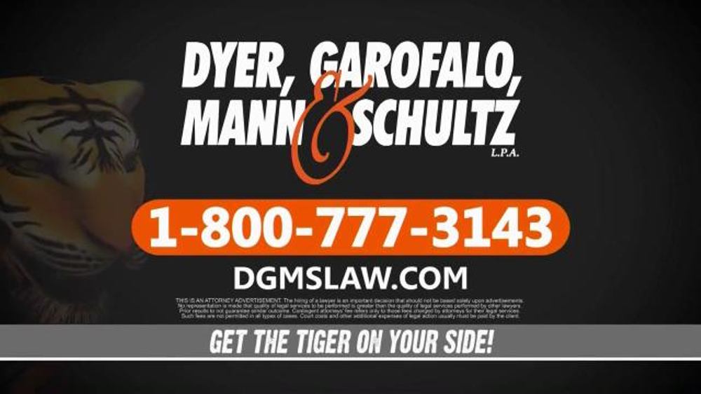 Dyer Garofalo Mann Amp Schultz Tv Spot Links To Ovarian