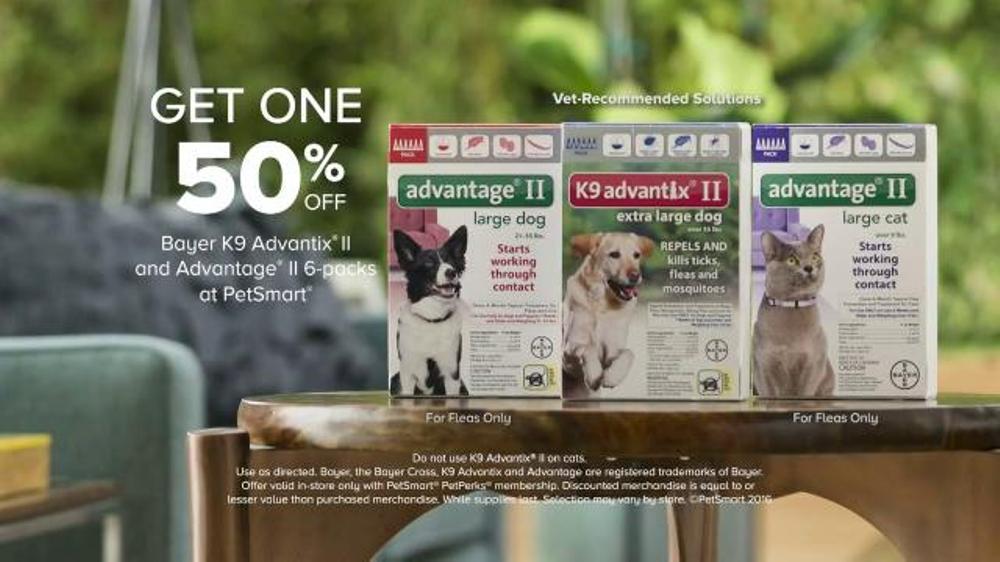 Advantage Ii Extra Large Dog  Pack Petsmart