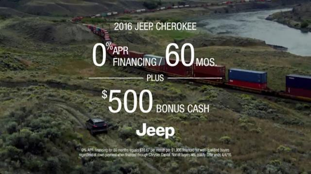 2016 Jeep Cherokee Trailhawk TV Spot, 'No Boundaries ...