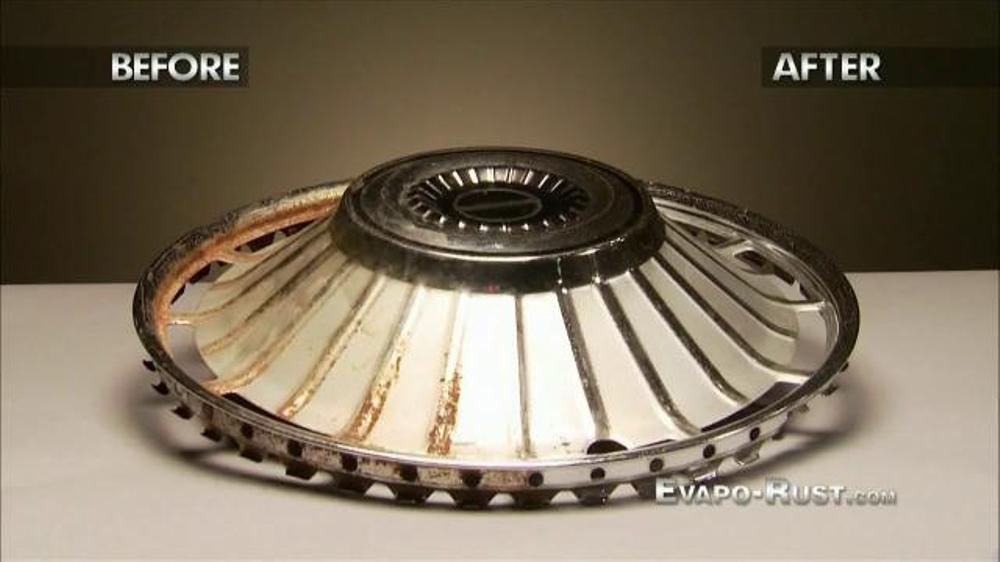 Evapo Rust Tv Spot Rust Remover Ispot Tv