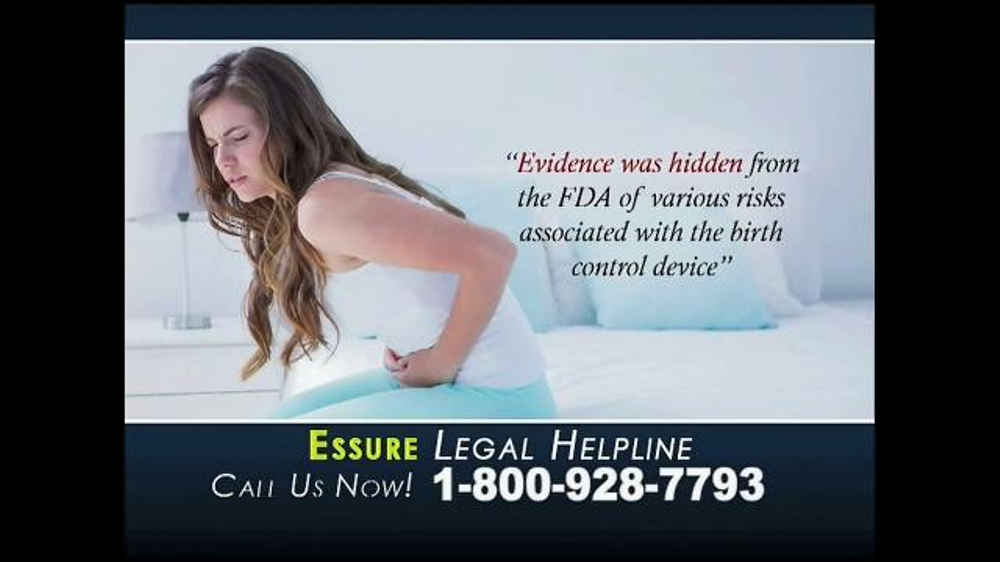 Mccunewright Llp Tv Spot Essure Contraceptive Implant