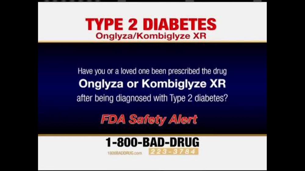 Pulaski Law Firm >> Pulaski Law Firm TV Spot, 'Onglyza and Kombiglyze XR' - iSpot.tv