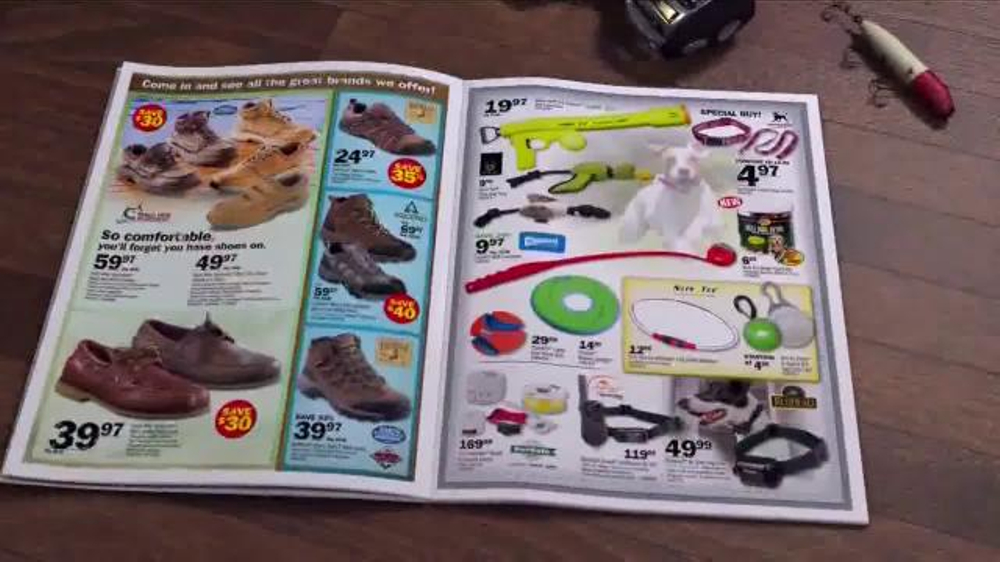 Bass pro shops dog days family event tv spot 39 dog bed for Bass pro fish fryer