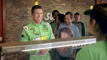 Subway: Nice Guy Carl Edwards
