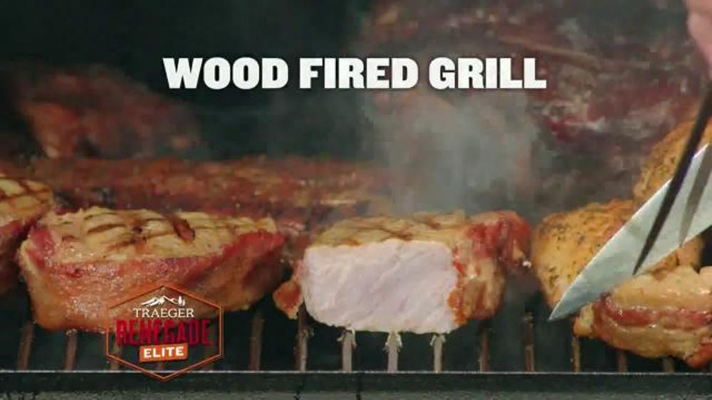 Traeger Renegade Elite Grill TV Spot, 'Versatility' - iSpot.tv