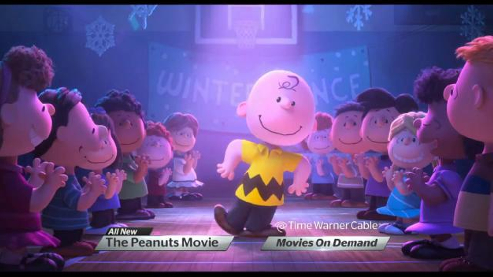 Time Warner Cable On Demand Tv Spot The Peanuts Movie