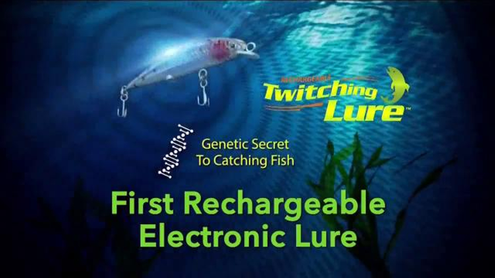 Twitching lure tv spot 39 too many fish 39 for Fishing lure as seen on tv