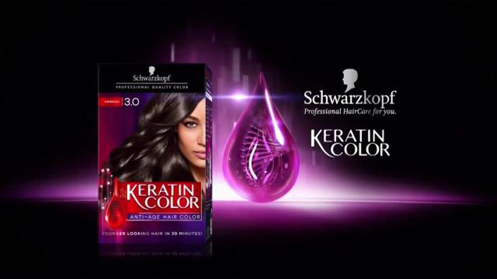 Schwarzkopf Keratin Color Tv Spot Younger Looking Hair