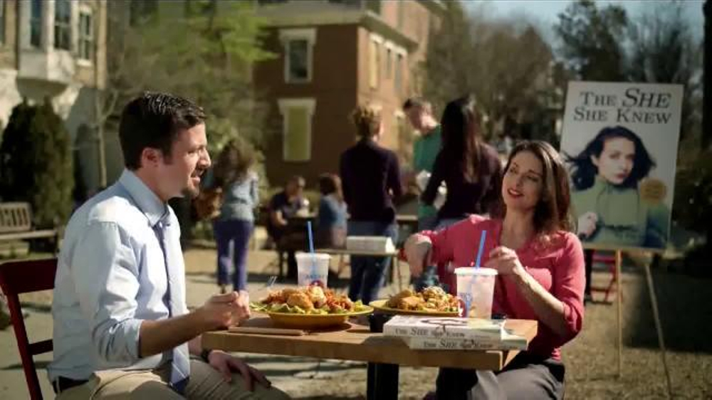 Zaxbys commercials celebrity